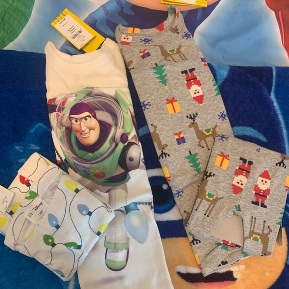 NWT BABY GAP BOYS PAJAMAS PJS  shorts summer Disney Toy Story u pick size